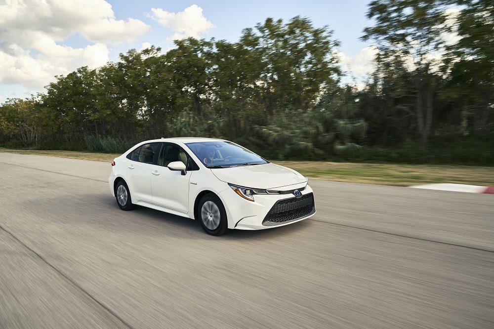 2020 Toyota Corolla Hybrid, the best economy car