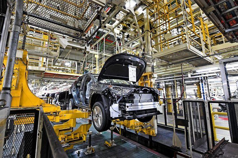 2020 Toyota RAV4 Hybrid production at TMMK