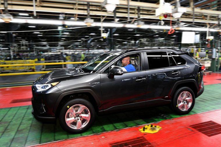 2020 Toyota RAV4 Hybrid production Kentucky