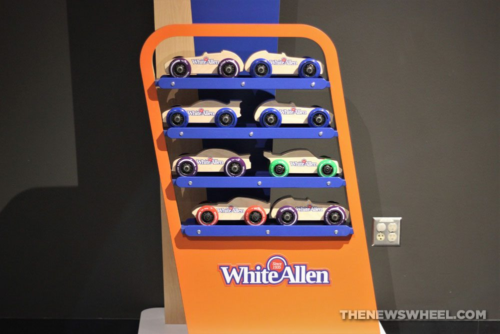Boonshoft Museum of Discovery Dayton Ohio Children learning educational center White-Allen Racetrack Exhibit Opening cars toys
