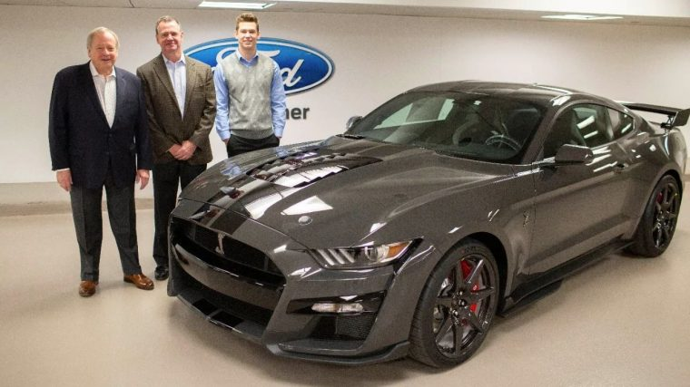 one-of-one 2020 Mustang Shelby GT500 Venom raffled off for JDRF