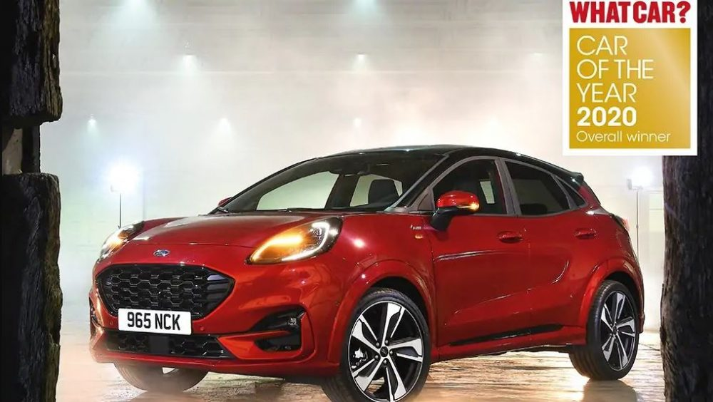 Ford Puma Wins What Car Car Of The Year 2020 The News Wheel
