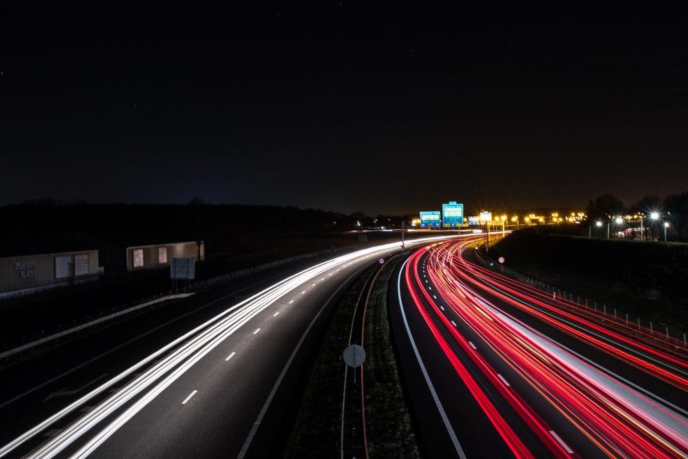 Autobahn de nuit