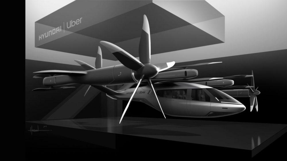 Hundai's S-A1 Air Taxi