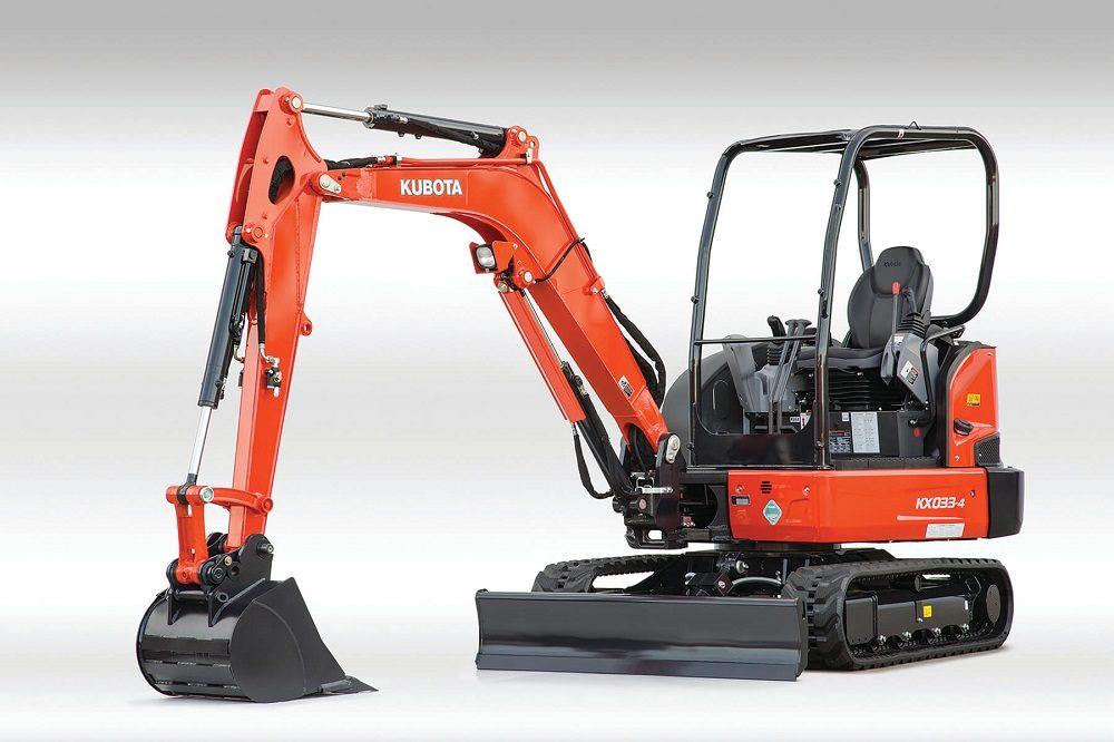 Kubota KX033-4 maquinaria de construcción