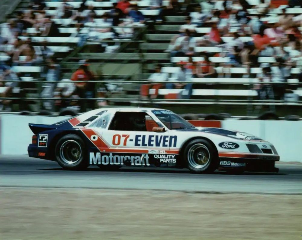 Lyn St James Ford Mustang 1985
