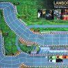 Official Lamborghini Board Game review racing cars Monza track