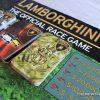 Official Lamborghini Board Game review racing cars cards
