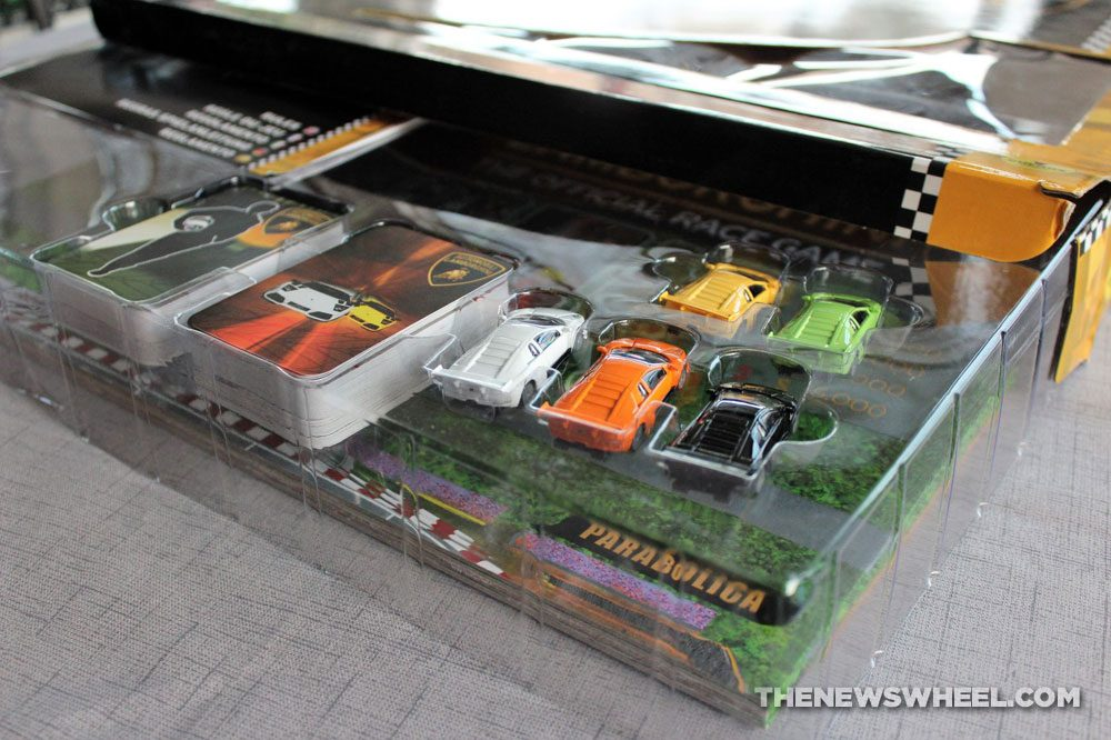 Official Lamborghini Board Game review racing cars package