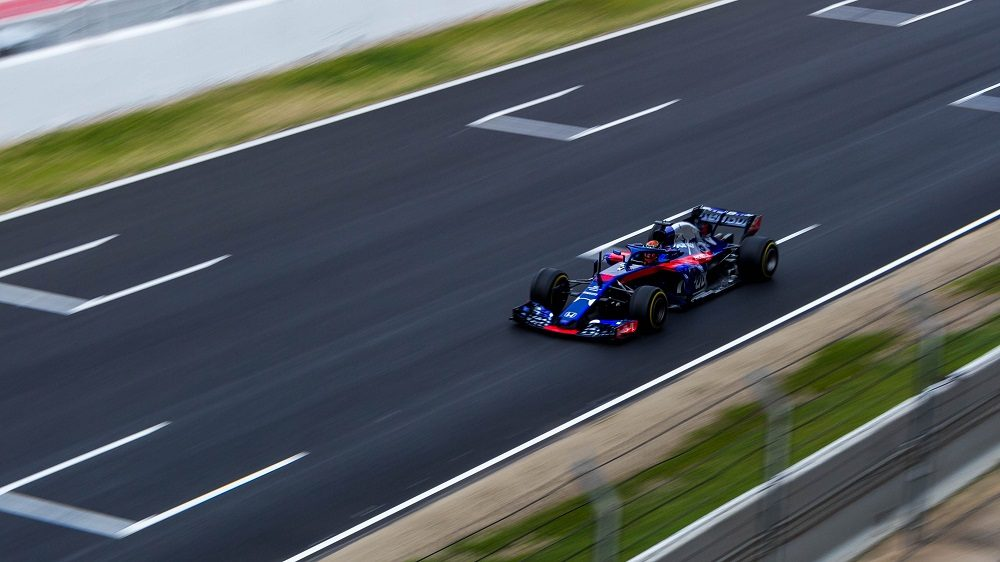 Toro Rosso F1 at Catalunya test