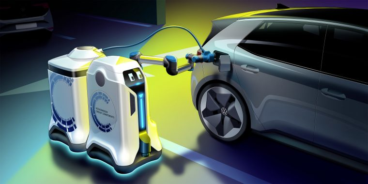 Volkswagen thinks batteries are the future