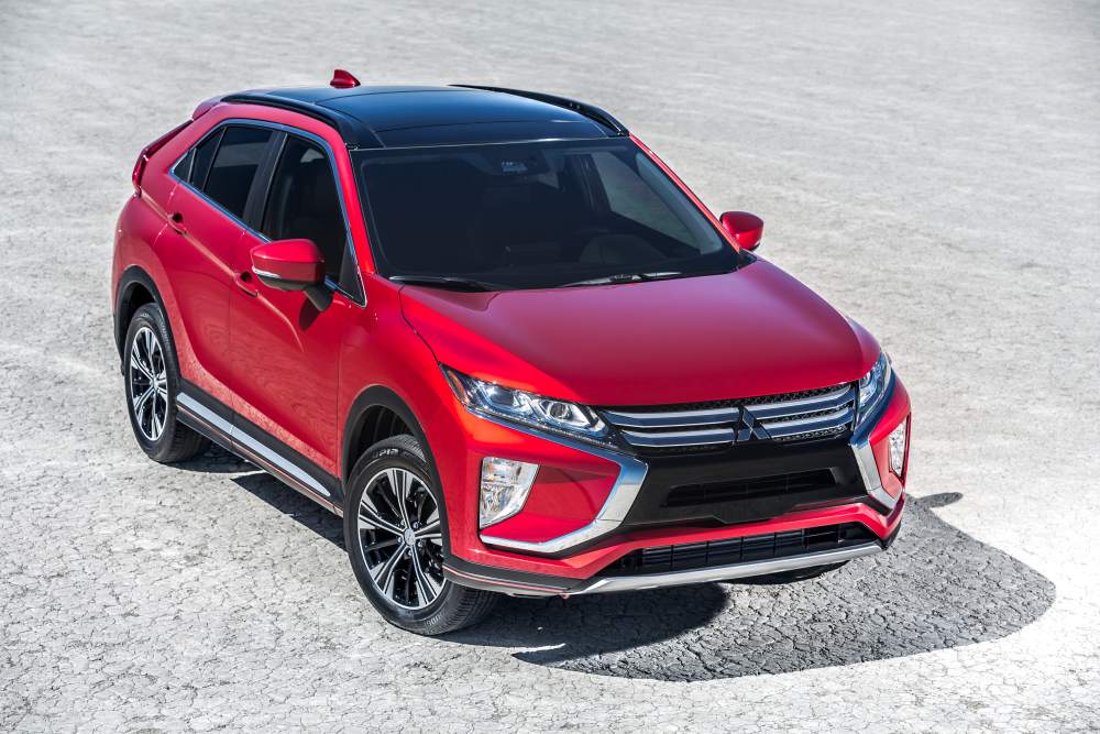 2020 Eclipse Cross. Mitsubishi improved customer satisfaction