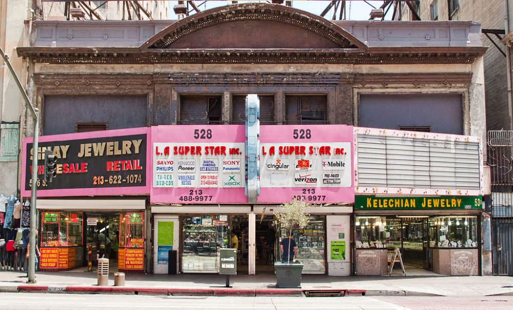 Broadway in Los Angeles