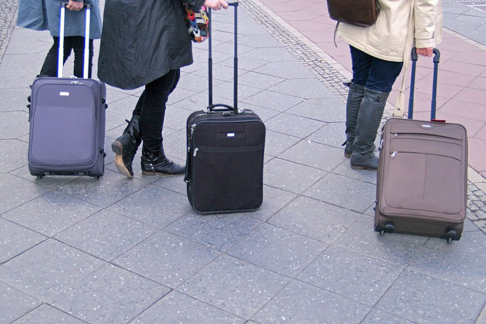 Suitcases Visually Impaired AI suitcase