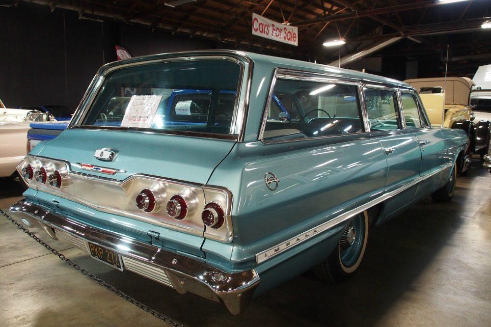 A '63 Chevy Impala Station wagon