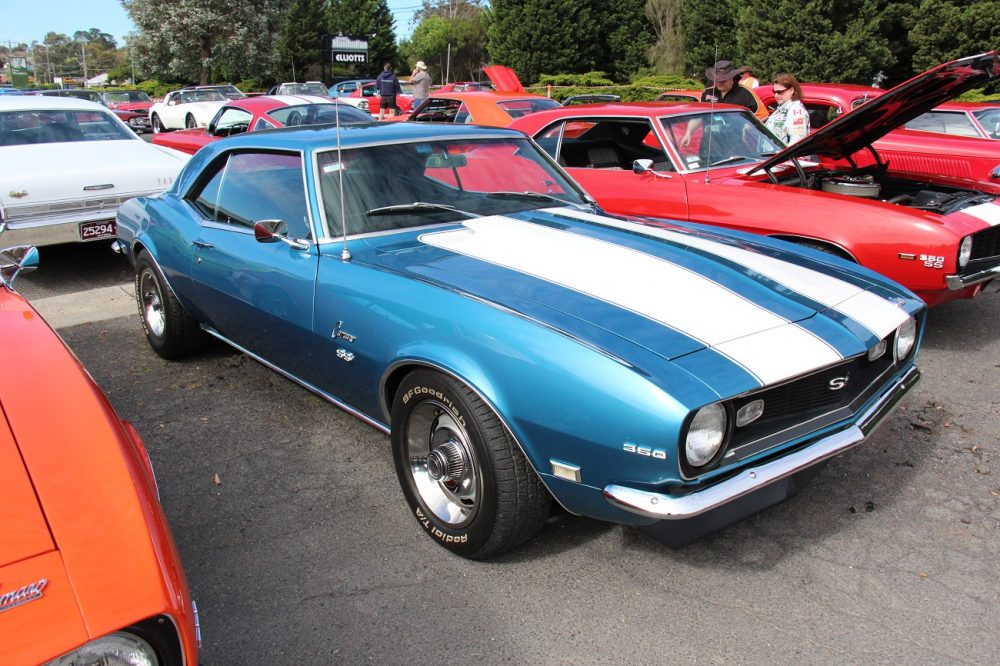 a 1968 Camaro, much like the one in Apollo 13