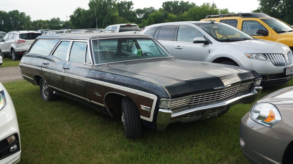 A 68 Caprice Estate, like the one destroyed in No Country for Old Men