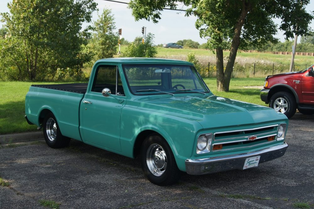 1969 Chevrolet C-10, as driven by the sheriff in No Country