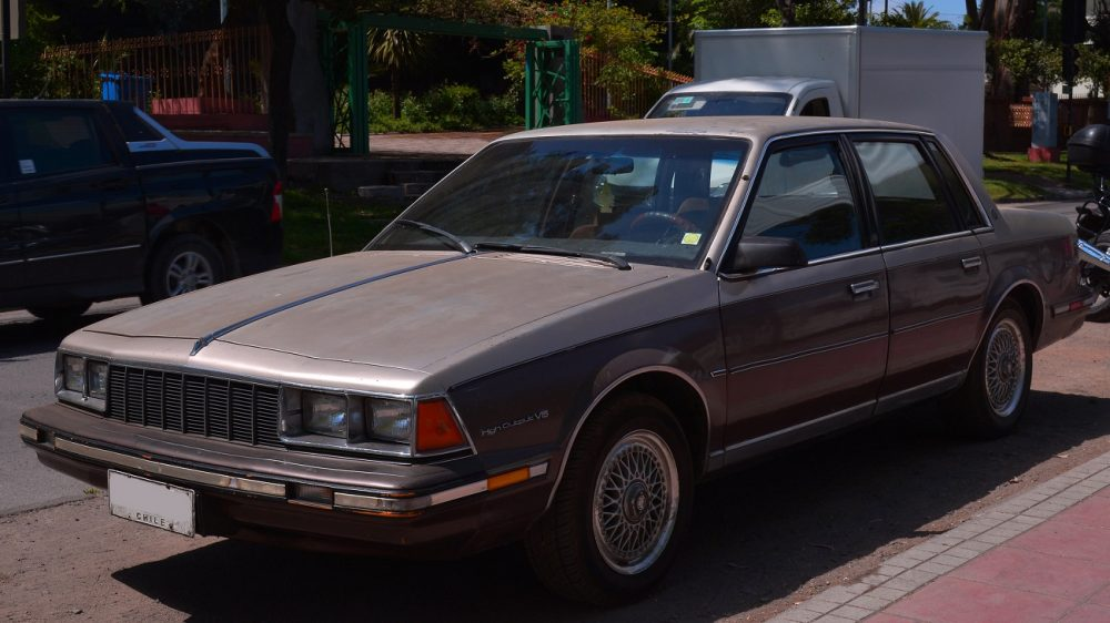 1984 Buick Century, one year older than the stolen model recovered from the Maumee River
