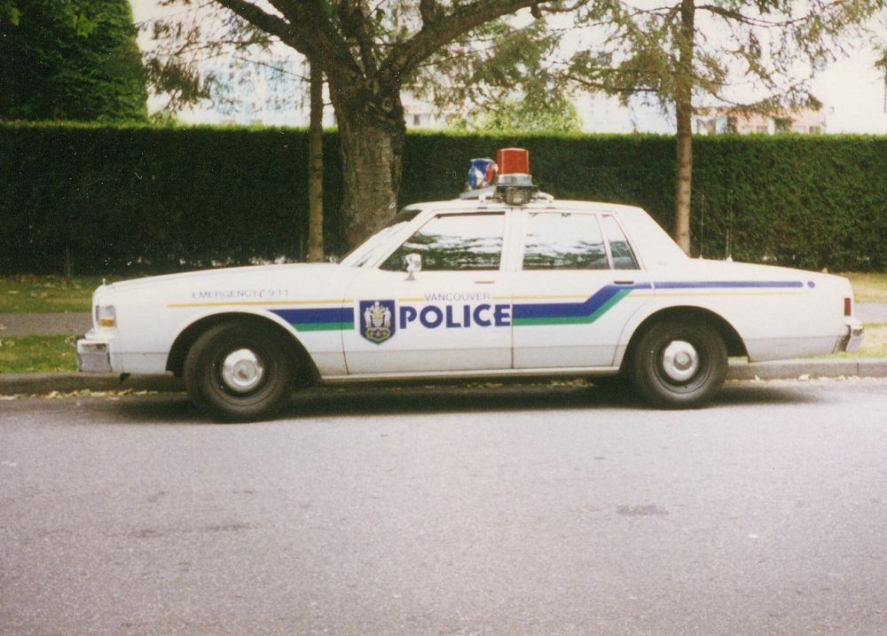 1988 Chevrolet Caprice Police Package