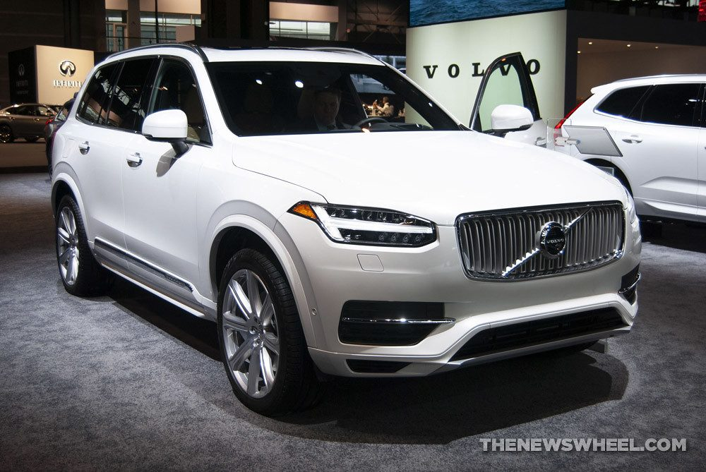 The 2019 volvo xc90, soon to be a member of Geely-Volvo