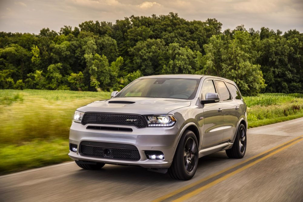 2020 Dodge Durango SRT. 2021 Durango set for fall.