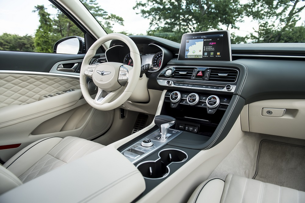 2020 Genesis G70 Interior Honored by Autotrader - The News Wheel