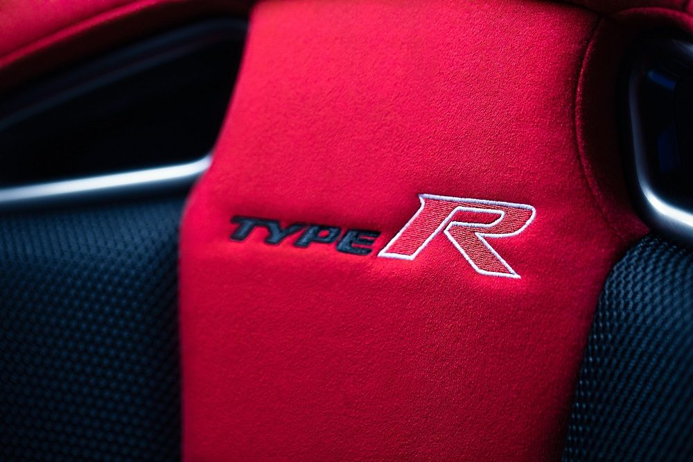 2020 Honda Civic Type R GT seat