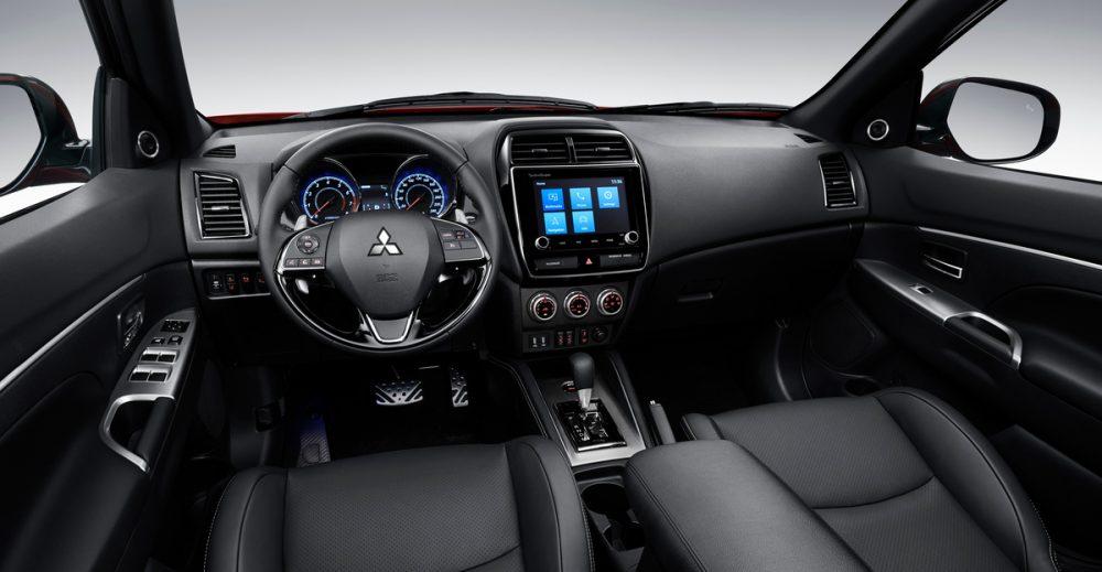 2020 Mitsubishi Outlander Sport interior. 2020 Future Digital Award winner