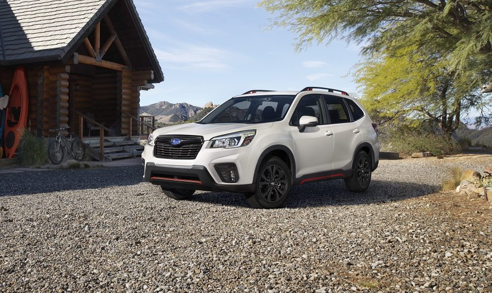 A less gaudy version of the Forester from Singapore
