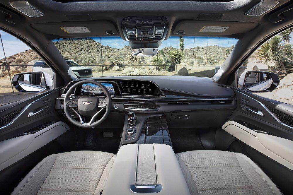 2021 Cadillac Escalade. Buick electric crossovers.