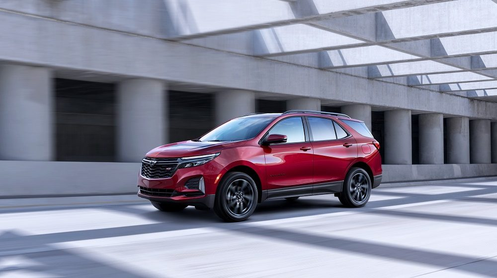 GM mid-cycle updates Chevrolet Equinox