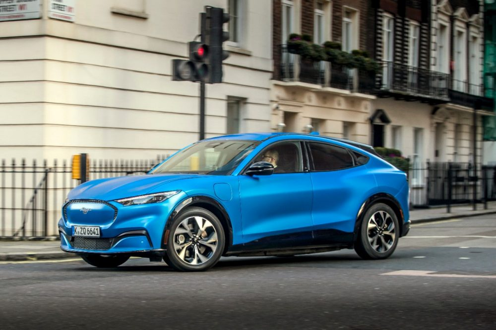 2021 Ford Mustang Mach-E Europe Go Electric tour