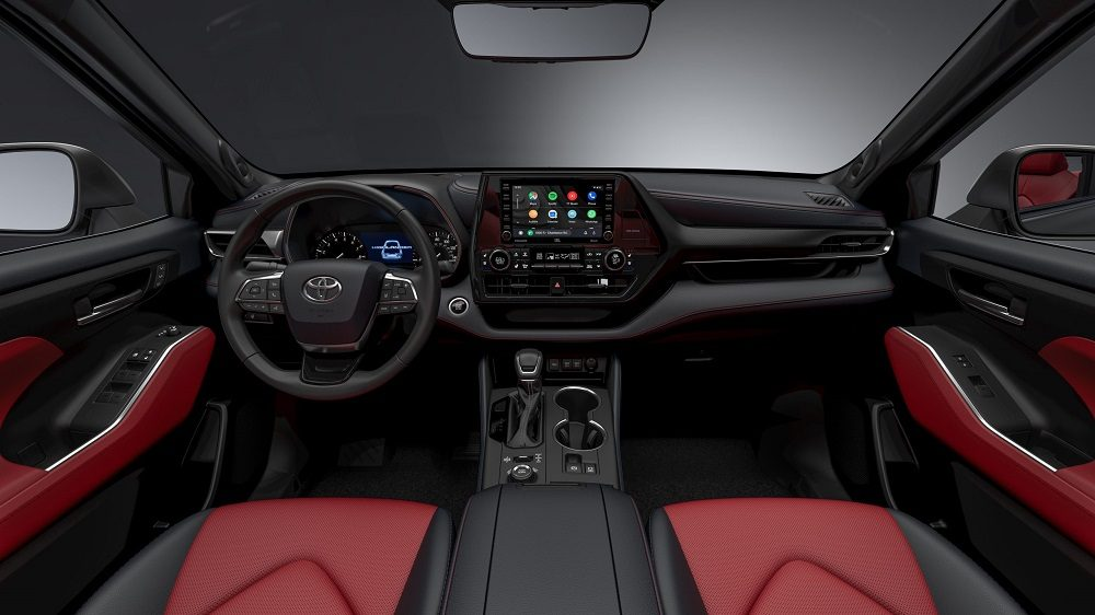 2021 Toyota Highlander XSE cabin
