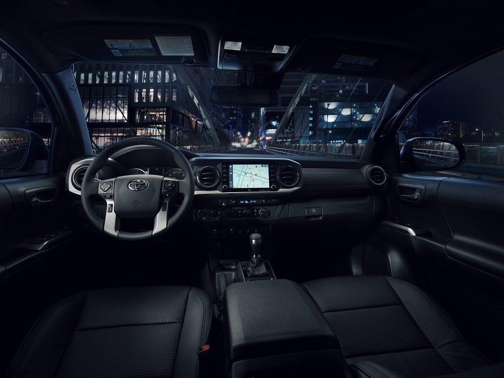 2021 Toyota Tacoma Nightshade cabin