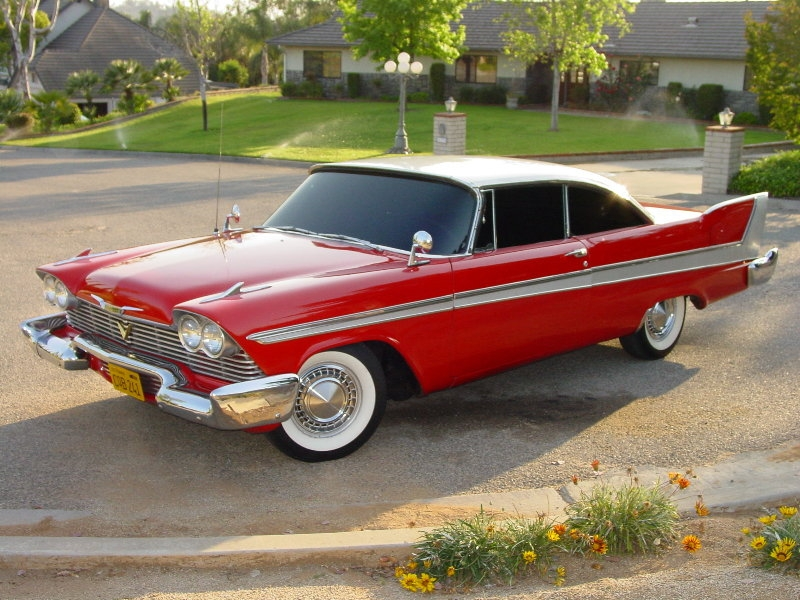 1958 Plymouth Sport Fury from John Carpenter's Christine