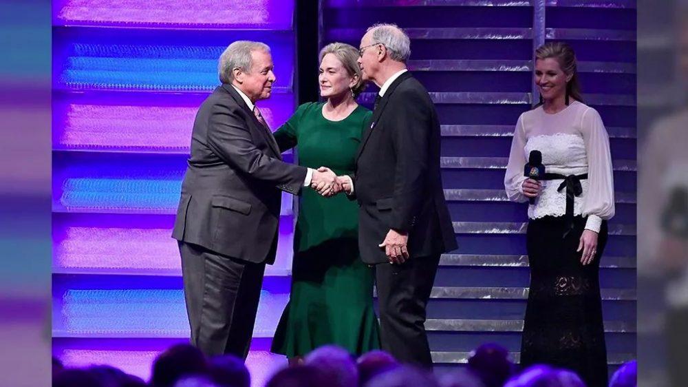 Edsel Ford II Accepts Landmark Award at NASCAR HOF Ceremony