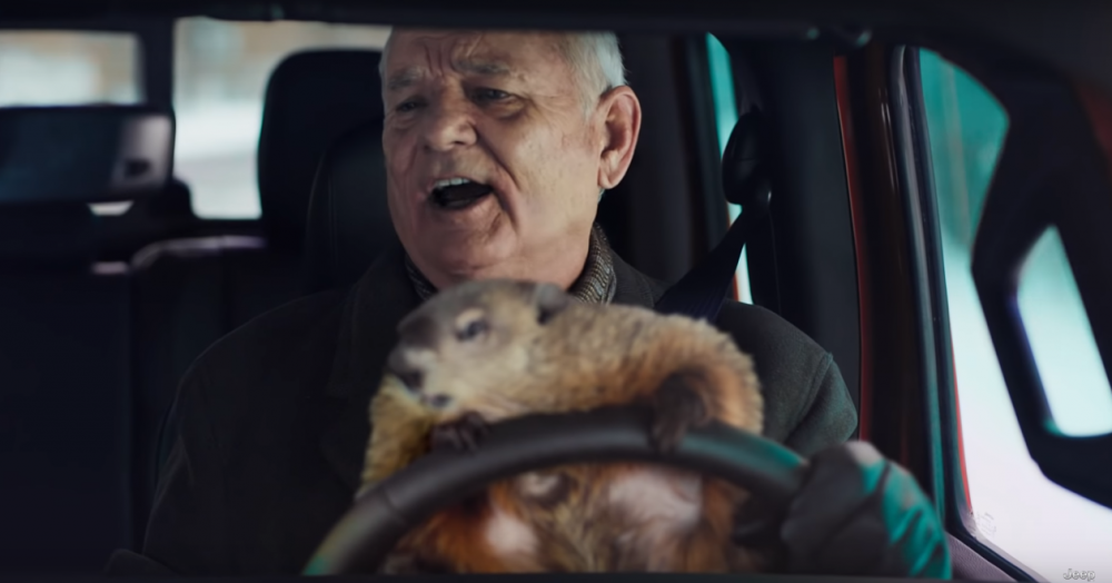 Jeep Groundhog Day Big Game Commercial