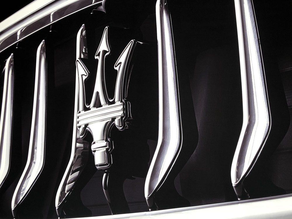 Maserati Trident Closeup