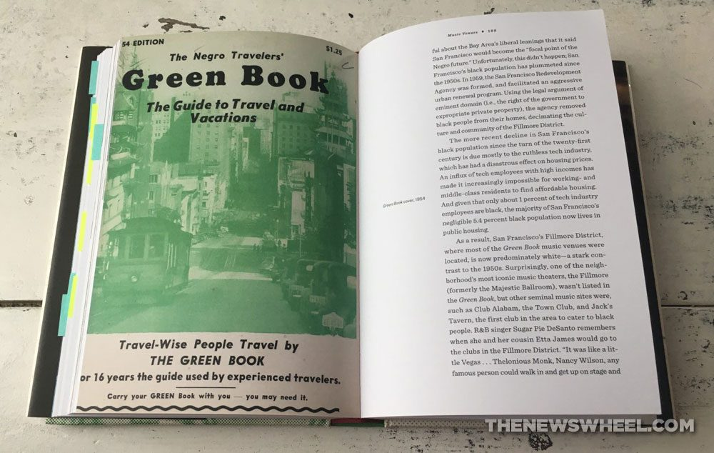 Photo of Overground Railroad book pages