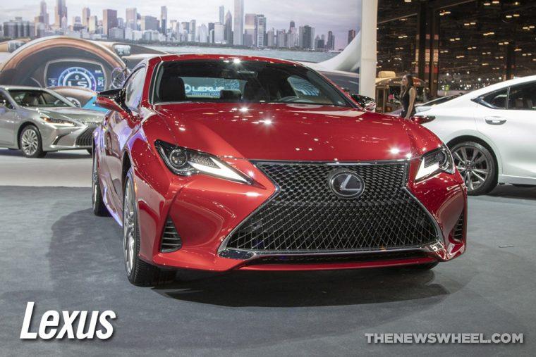 Lexus car news