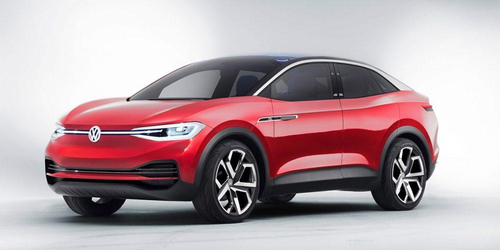 Volkswagen ID. Crozz Elecrtic Concept Front