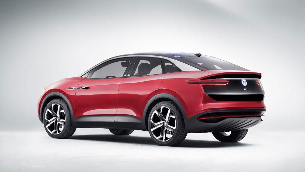 Volkswagen ID. Crozz Electric Concept Rear