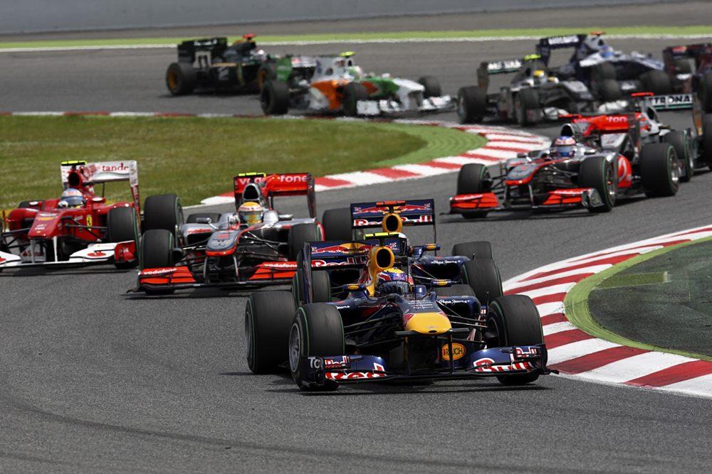 2010 F1 cars