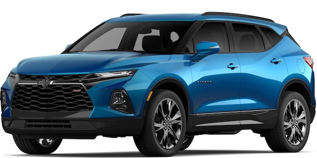 2020 Chevrolet Blazer Bright Blue Metallic