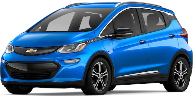 2020 Chevrolet Bolt Kinetic Blue Metallic