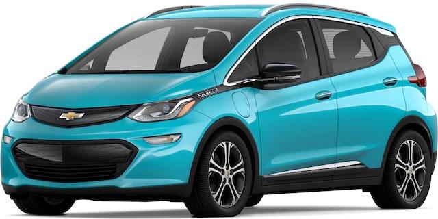 2020 Chevrolet Bolt Oasis Blue