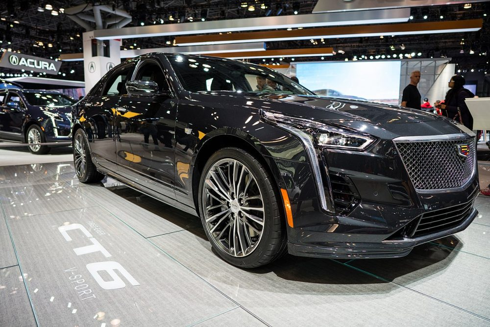 2020 Cadillac CT6 at 2019 New York International Auto Show - Wikimedia Commons | 2020 New York International Auto Show postponed