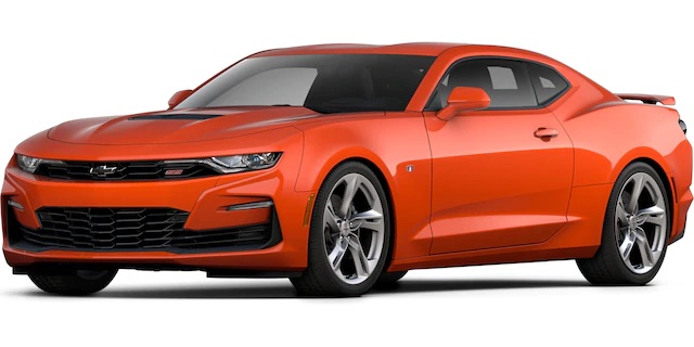 2020 Chevrolet Camaro Crush