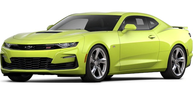 2020 Chevrolet Camaro Shock